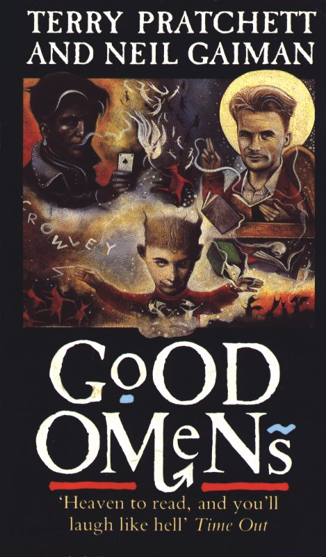 Cook Book Cover Uk ~ Good omens book covers